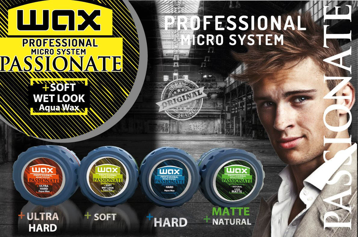Passionate hair WAX Professional System - SOFT WET LOOK