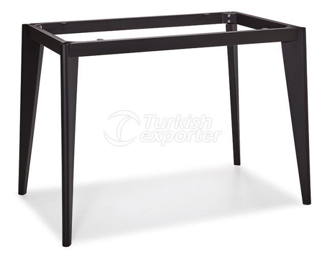 Metal de perna DCS-251-Table