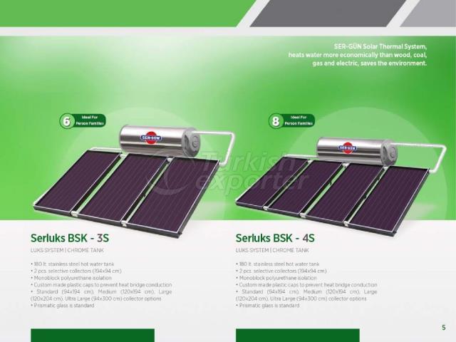 Solar Energy Serluks BSK-3S - 4S