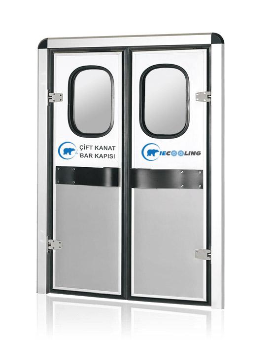 Dual Wing Flip Flap Service Door