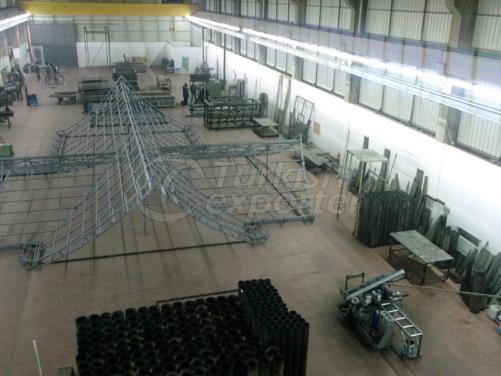 Çelik Çatı Sistemi