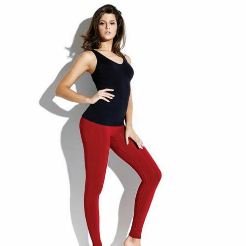 Women Undershirt High Waist Leggings