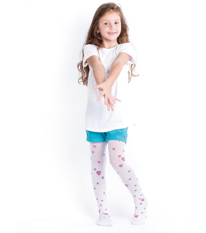 EV0106 - Eva 60 Den Patterned Fashion Tights For Kid's
