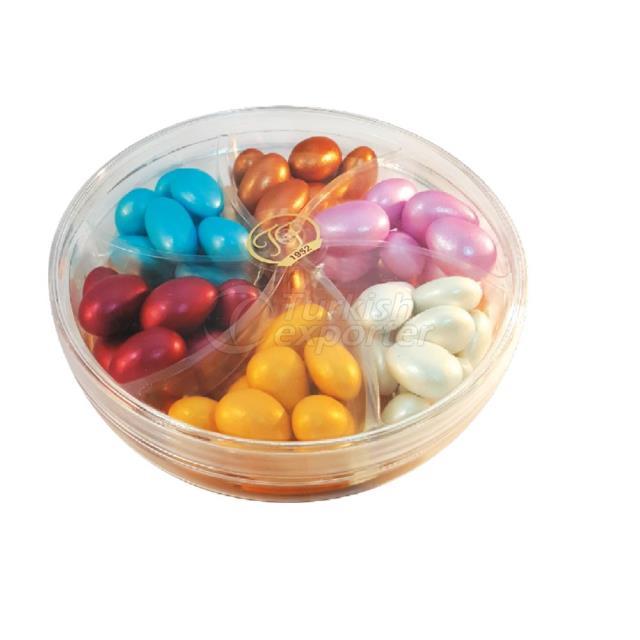 Dragées aux amandes recouvertes de chocolat code 1239 240g