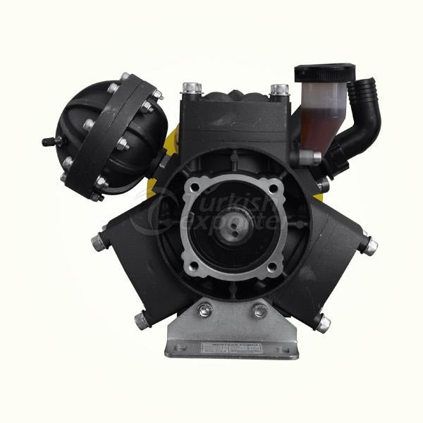 71 Liter 3 Membranes Pumps Models MTS-371S