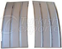 Land Rover Vogue side grill set Sil