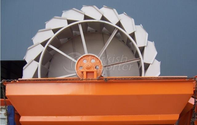 Clasificador de rueda de cubo