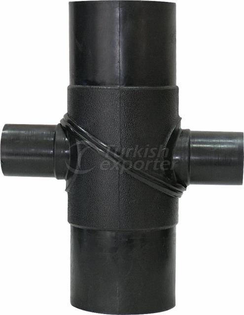 Reduced Cross TEE 90° (KIT Injection Welded)