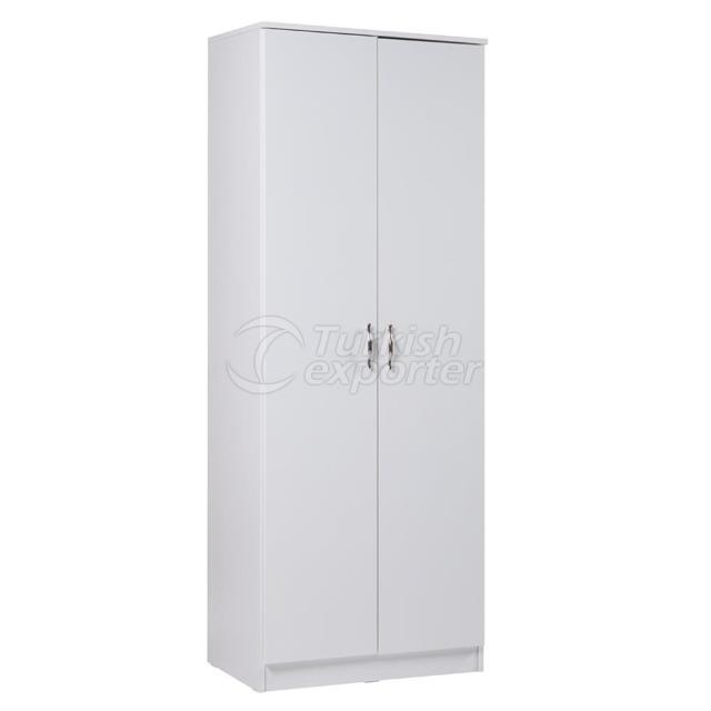 Gabinete de 2 portas com gaveta