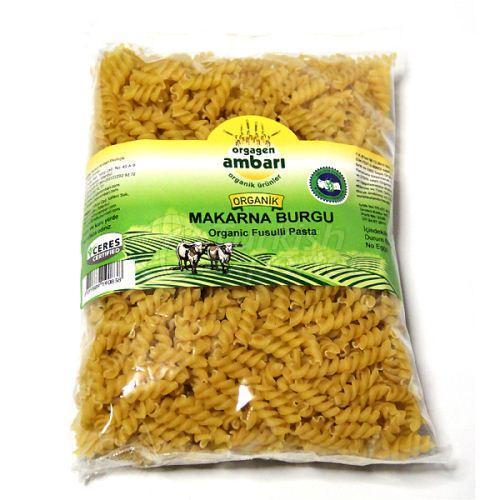 Organic Spiral Pasta 500 Gr