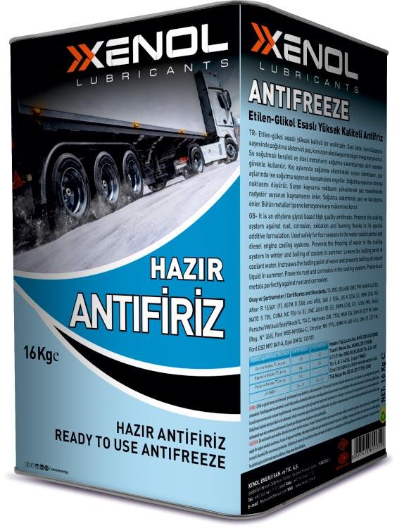 READY TO USE ANTIFREEZE