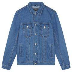 Light Wash Indigo Western Jacket