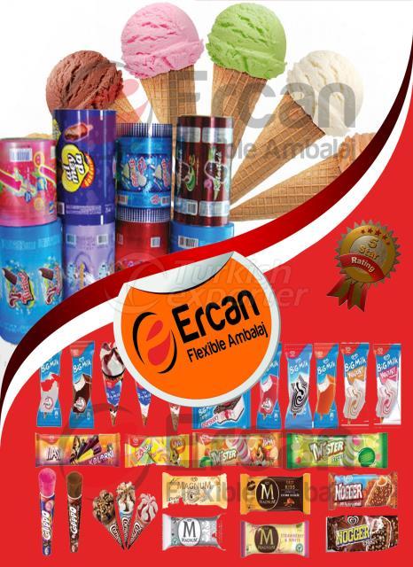 مبلاج و تغليف منتجات الآيس كريم