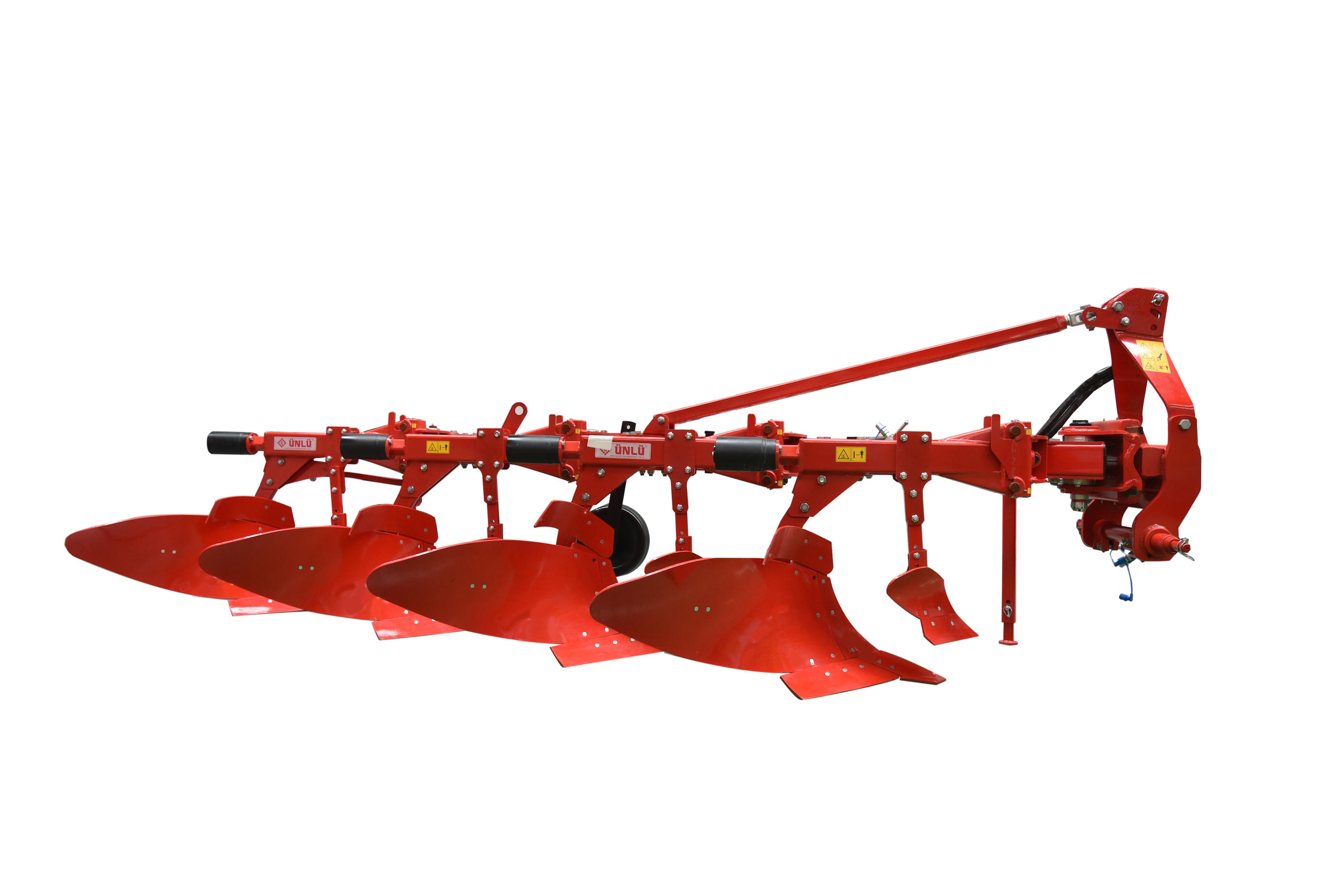 Mounted Conventional Plough with Hydraulic System