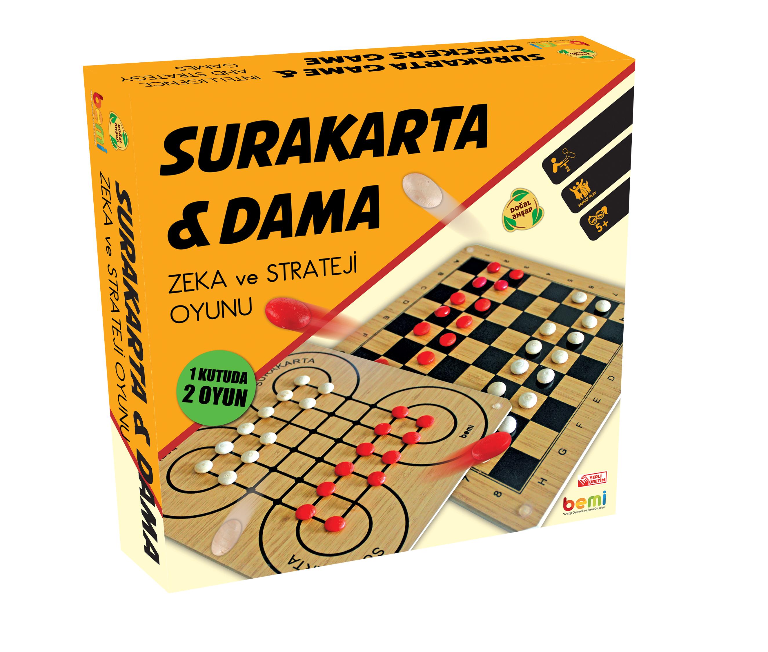 Surakarta & Dama Wooden Table
