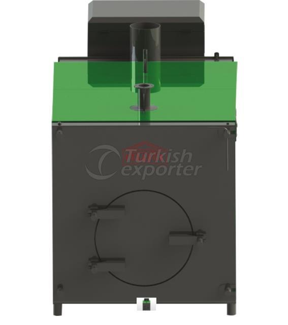 Central Full Cylindrical Stoker Heating Boiler