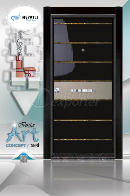 Steel Door - Insta 309