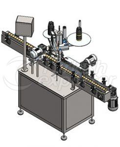 Automatic Round Bottle Self Labeling Machine