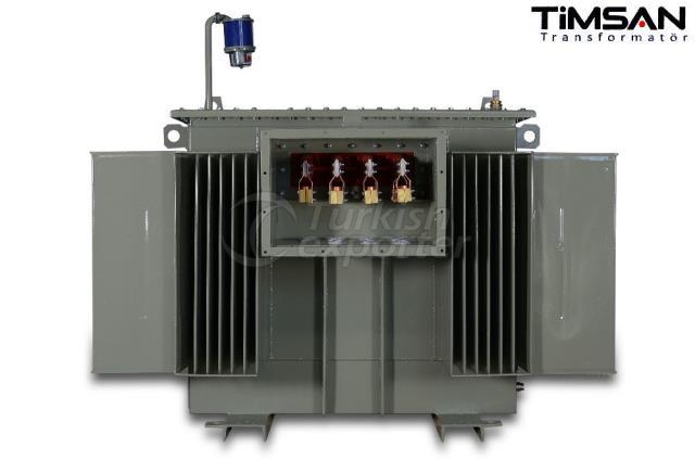 Transformadores tipo caja