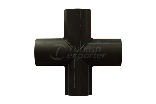 HDPE Segmented Cross T