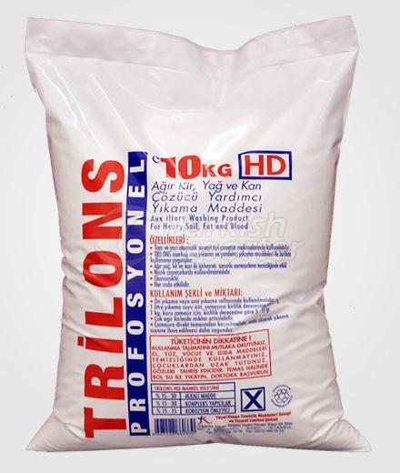 Laundry Detergents Trilons 10 kg