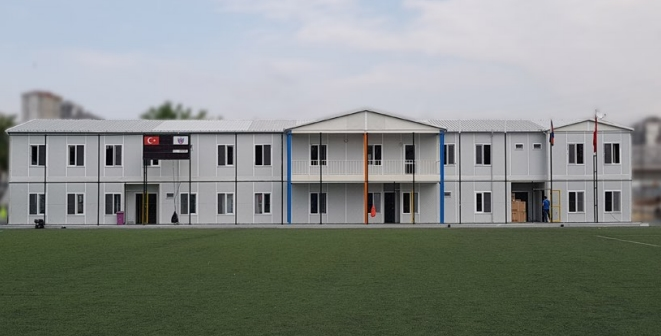 Prefabricated Buildings Alibeykoy Project