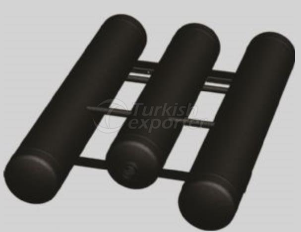 TMS Trio Cylindrical LPG Tanks