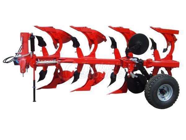 Armazenado de mouldboard reversível de tipo montado