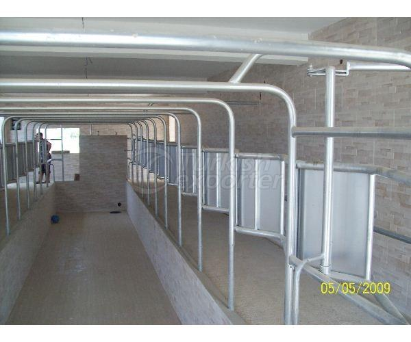 Milking Room Stall System