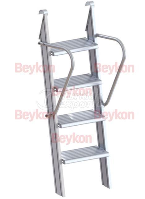 Escaleras de aluminio industriales
