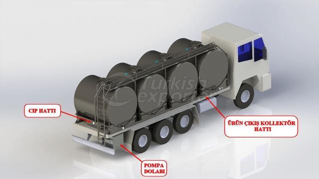 On-Vehicle Milk Cooling Tank