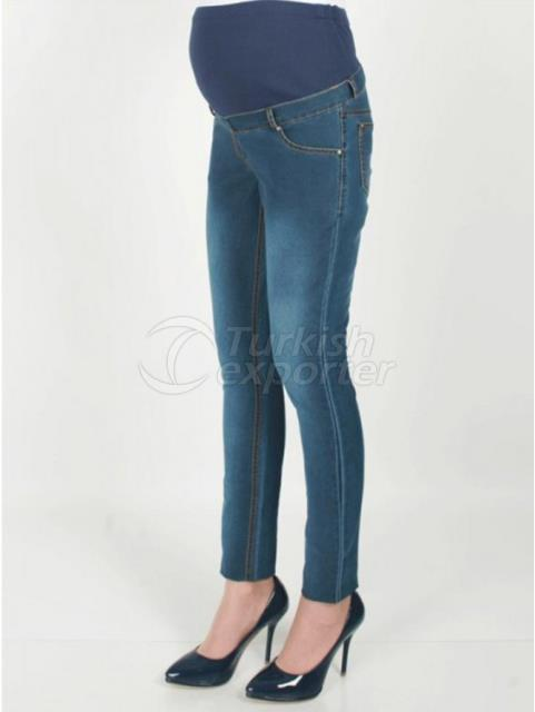 Maternity Clothes Narrow Racer Jeans Pants