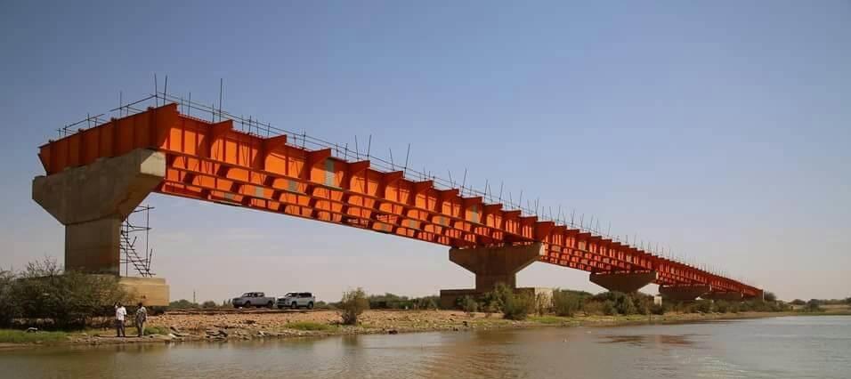 Steel Bridge in Egypt