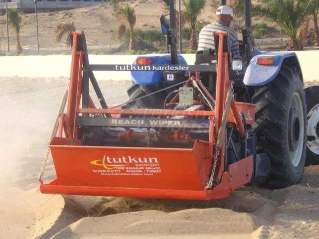آلة تنظيف الشاطئ