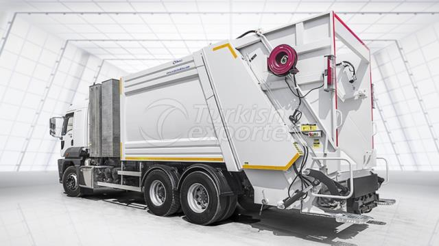 OBW series - Refuse Compactors With Bin Washer