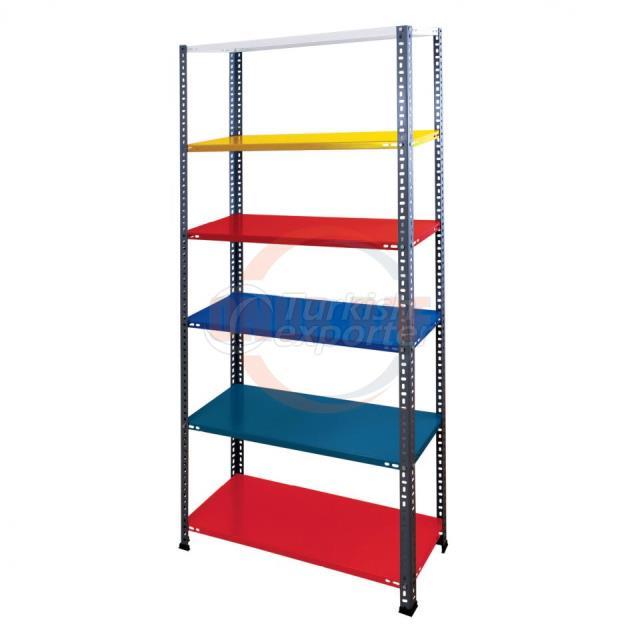 Steel Shelf Unit Color