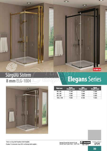 Duşakabin Sürgülü Sistem Elegans