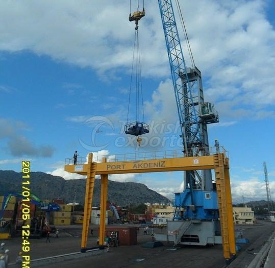 Double Girder Bridged Gantry Crane