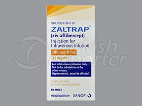 ZALTRAP 200 MG 8 ML VIAL