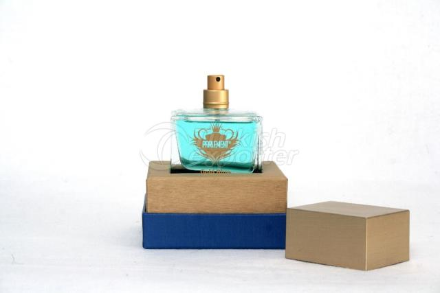 Perfume Gold Blue