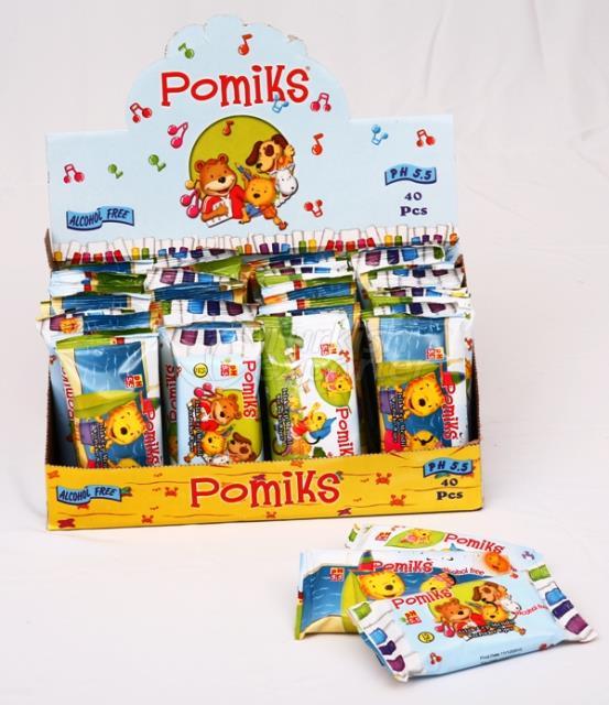 Pomiks Animation Pocket Wipes