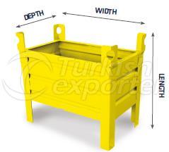 Multifunctional metal box