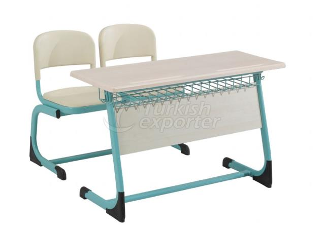 Desks OK-104 tel sepetli perdeli