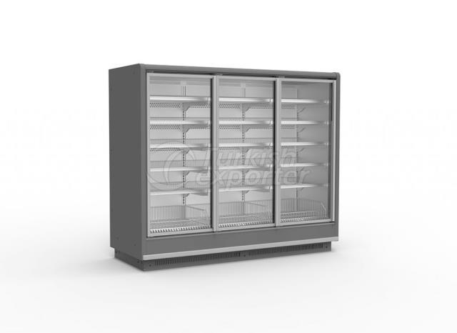 Glass Door Vertical Freezer SCORPION