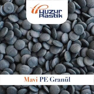 Blue PE Granule