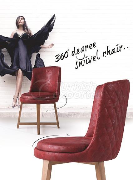 SNC-316-Swivel Chair Leather