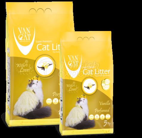 Cat Litter  -Vanilla Perfumed