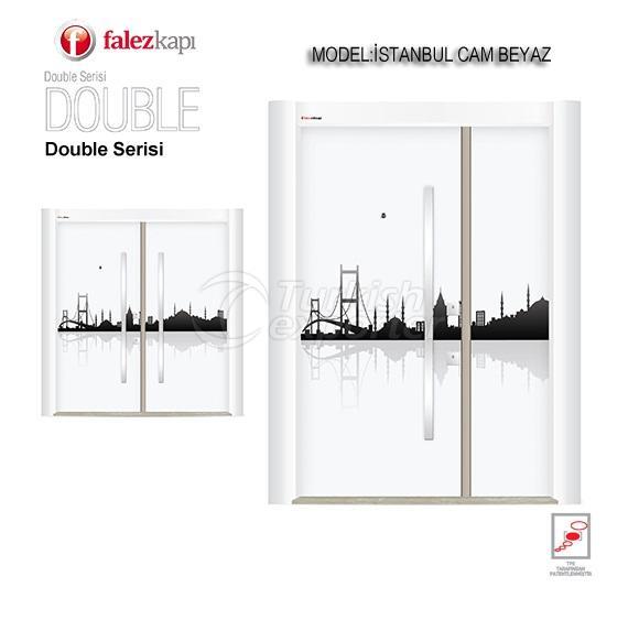 باب فولاذي زجاج اسطنبول