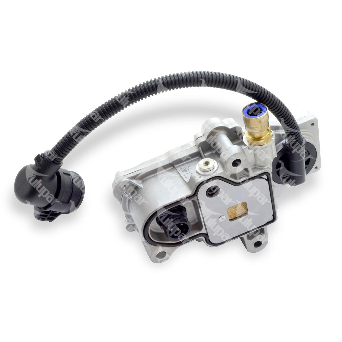 306010012 - Válvula magnética para caixa de velocidades com duplicador, com ficha central