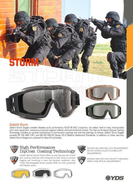 ballistic goggles